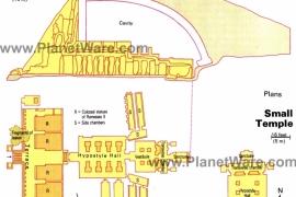 07план храмов в Абу-Симбеле