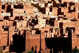 глиняные дома Ксара