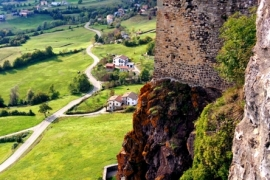 окрестности замка Барди