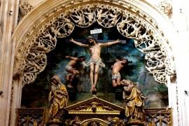 алтарь собора в Бургосе
