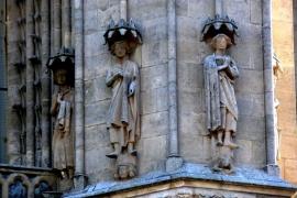 изваяния собора в Бургосе