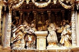 сцены Бургосского собора