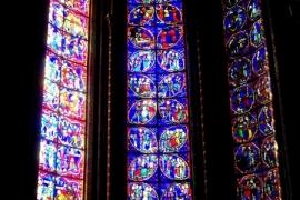 07витраж собора в Бурже