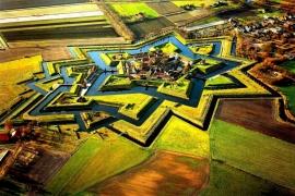 крепость звезда Буртанж