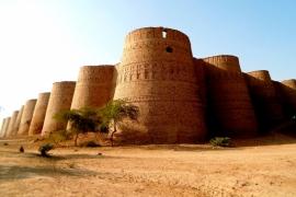 вид на форт Деравар