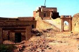 строения форта Деравар