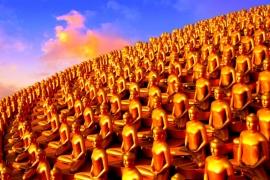 пейзаж храма Дхаммакая