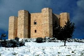 Кастель дель Монте зимой