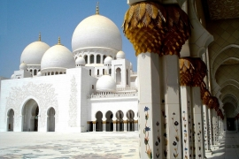барельефы мечети Зайда