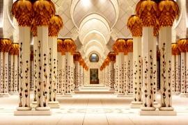 белый зал мечети Зайда