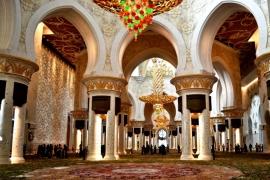 интерьер мечети Зайда