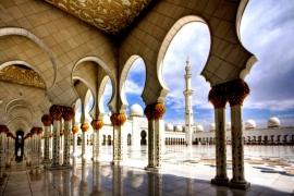 колонны мечети Зайда