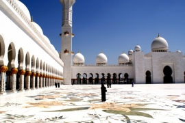 площадь мечети шейха Зайда