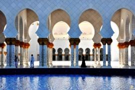 пространство мечети Зайда