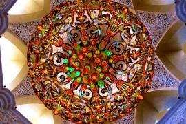 светильник мечети шейха Зайда