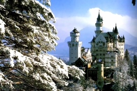 башни замка Нойшванштайн