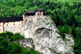 пейзаж Оравского замка