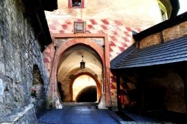 переходы Оравского замка