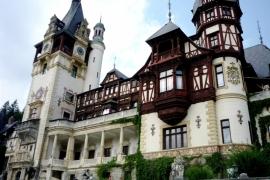 балконы замка Пелеш
