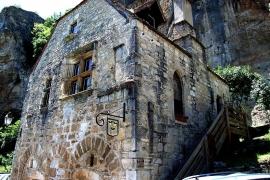 древний дом Рокамадура