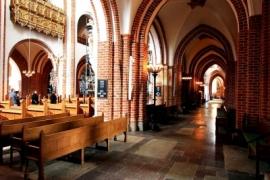 11галереи собора в Роскилле