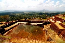 бассейн в Сигирии