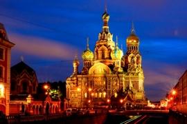 вечерний-храм-Спаса-на-Крови