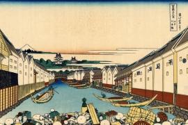 Мост Нихонбаси в Эдо