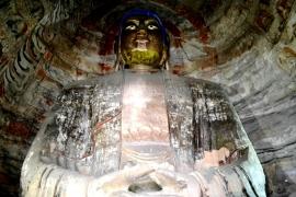 сидящий Будда Юньгана
