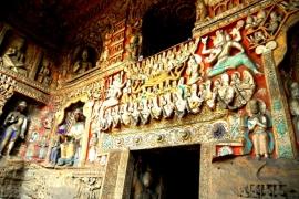 фрески гротов Юньган