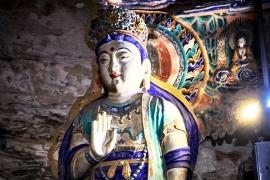 цветастый Будда