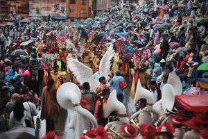 дождливая погода на карнавале