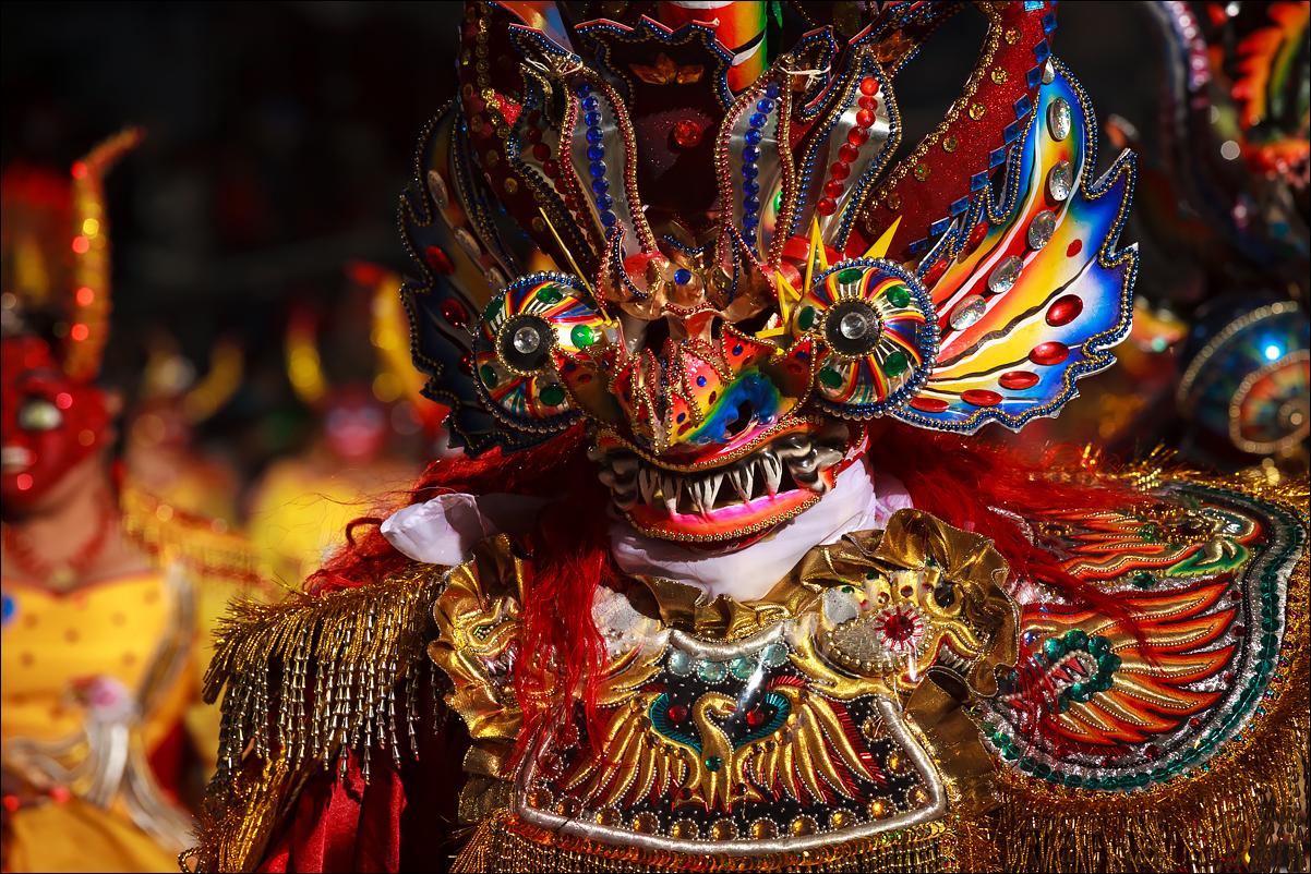 карнавальная маска Диаблады