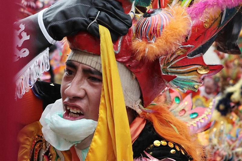 на карнавале часто бывают травмы