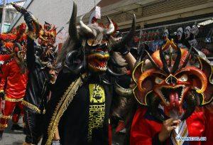 шествие дьяволов