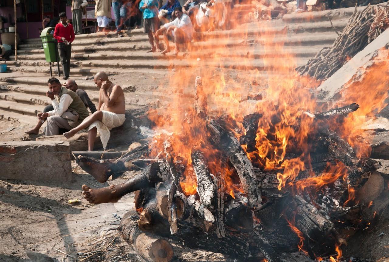 кремация в Индии