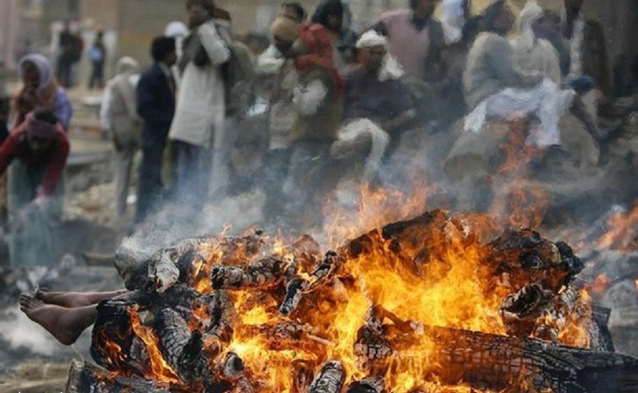 кремация в Бенаресе