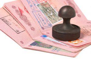 паспорта с штампом