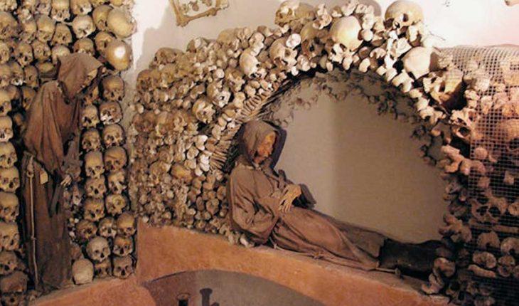 скелет в нише