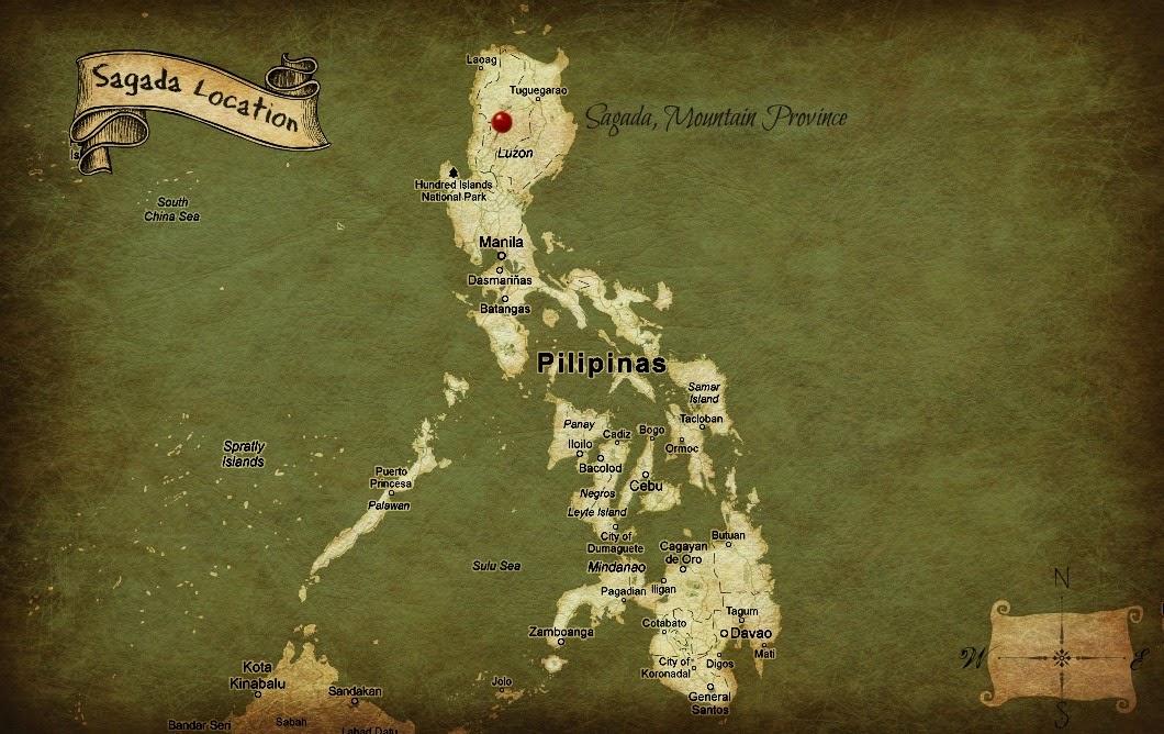 карта Сагады