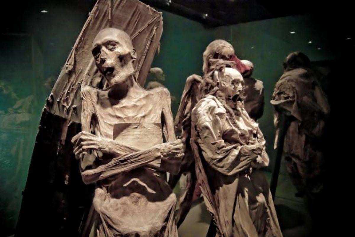 страшные мумии Гуанахуато