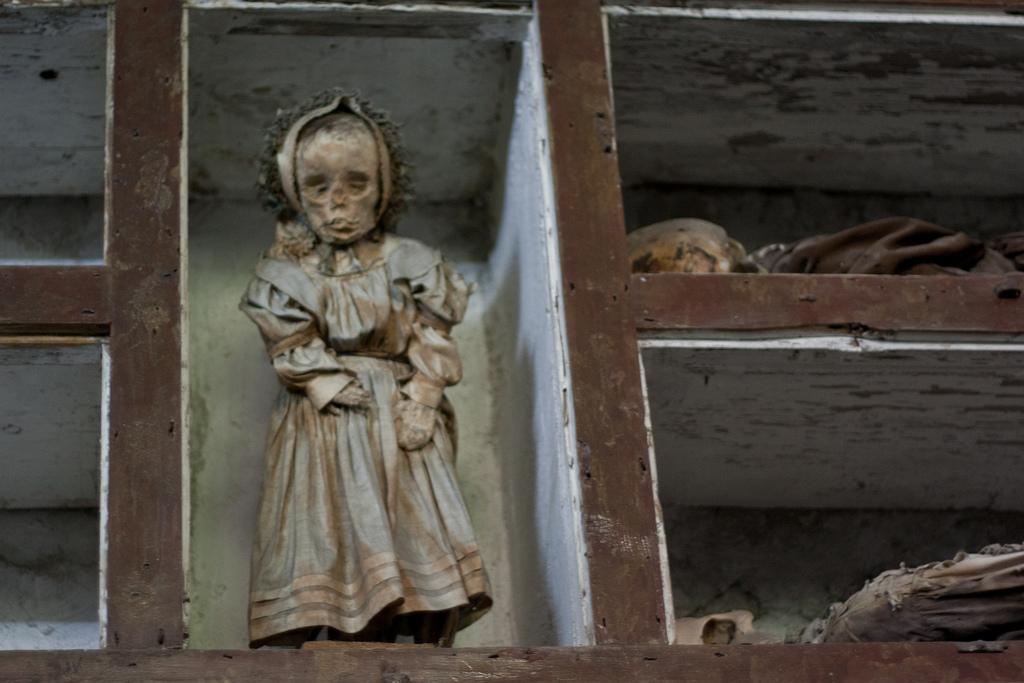мумия девочки