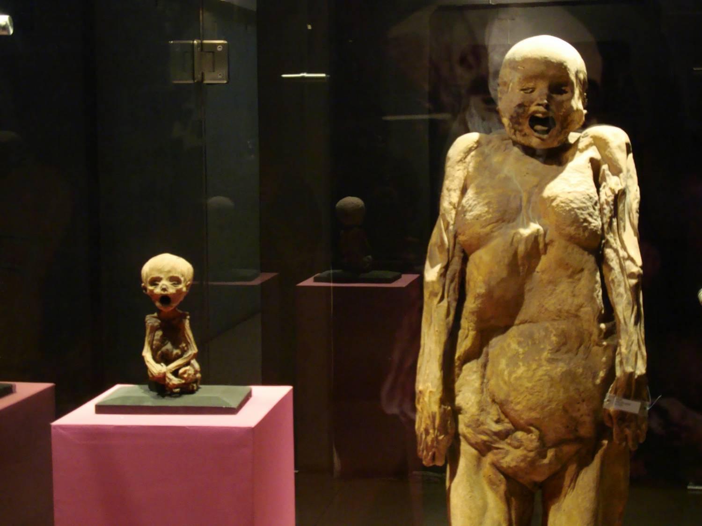 мумия большая и маленькая