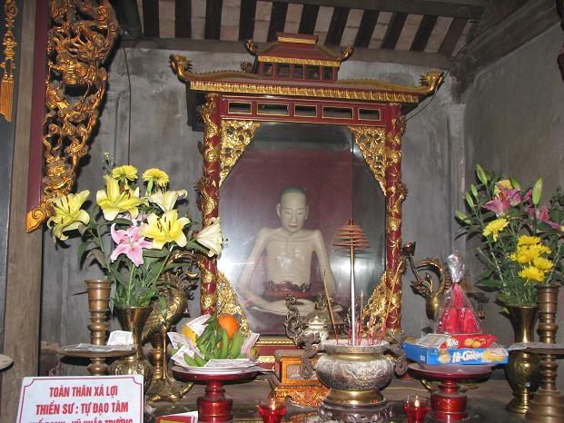 мумия вьетнамского монаха