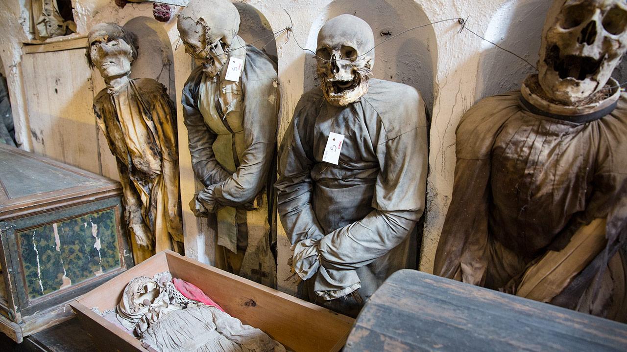 подземелье монастыря капуцинов