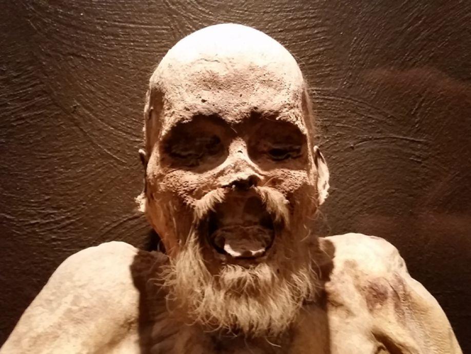 мумия старика