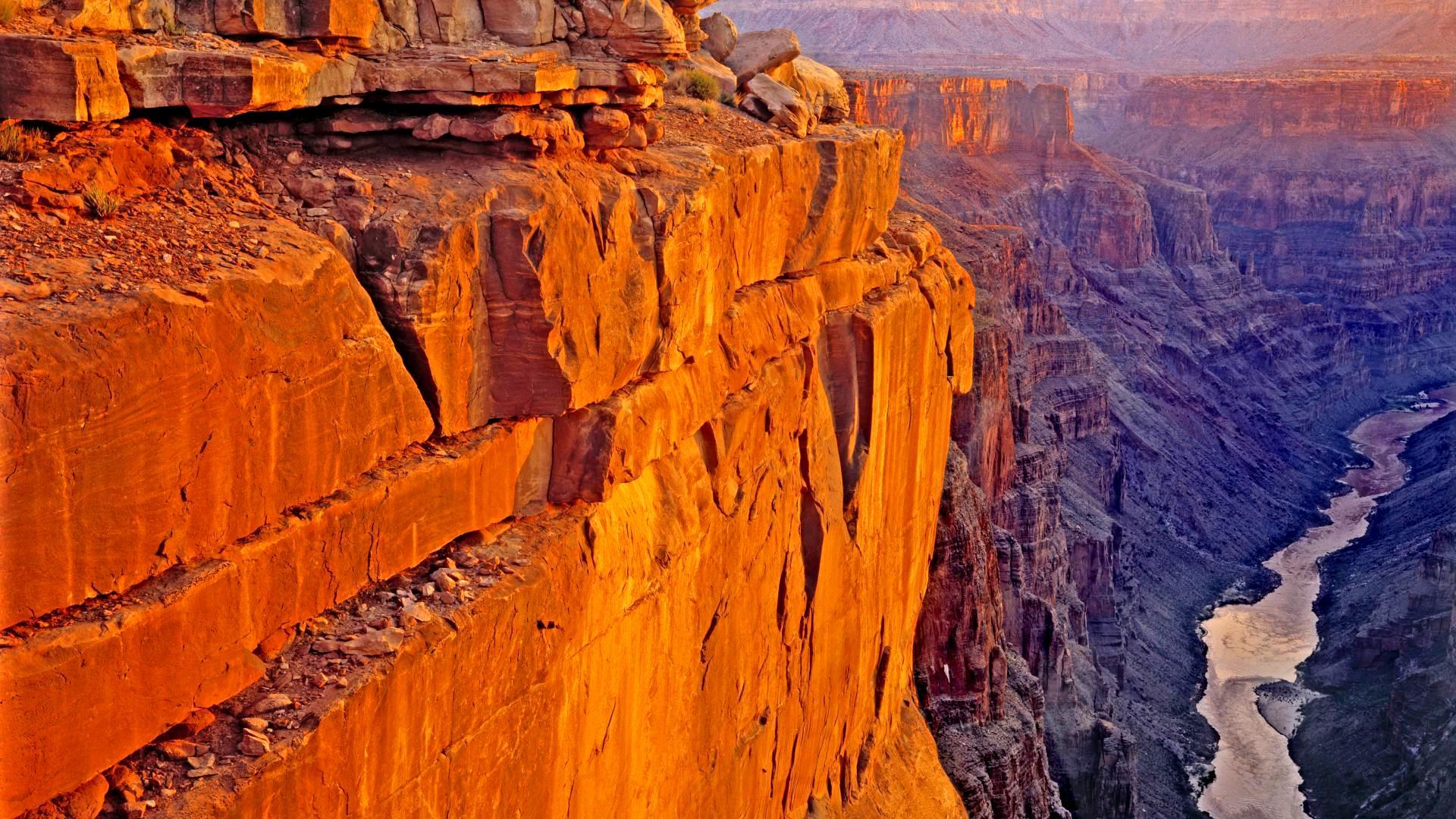 скала в гранд каньоне
