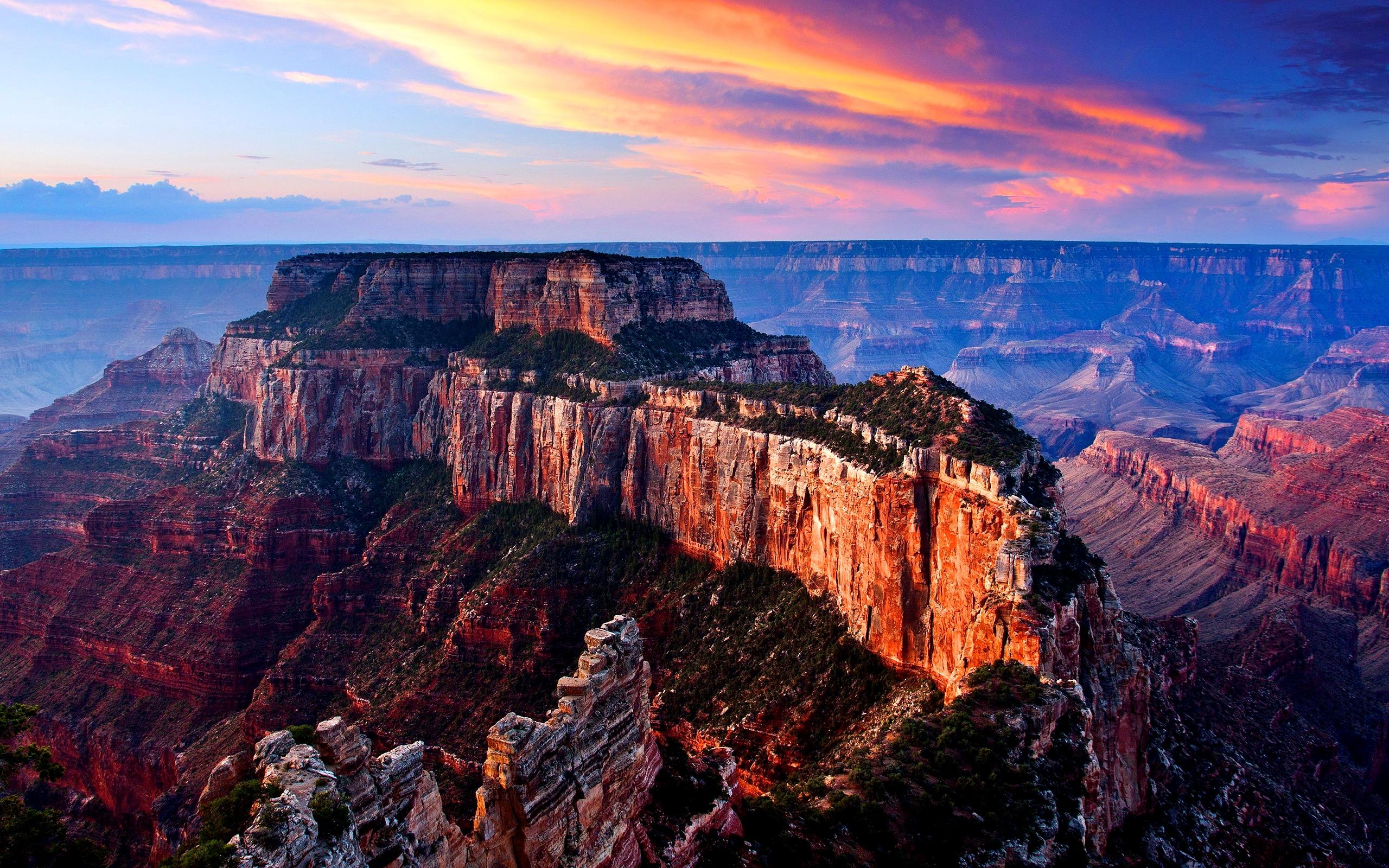 вечер в гранд-каньоне