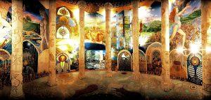 чудесные фрески даманхура