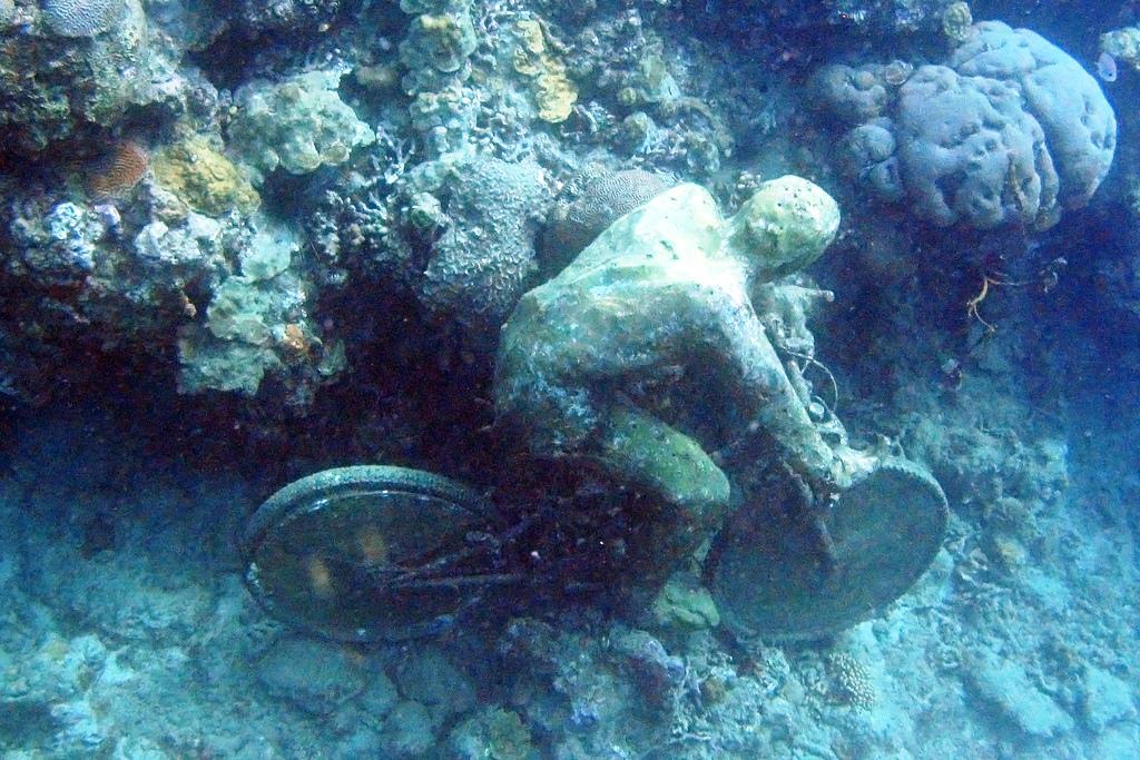 подводный велосипедист